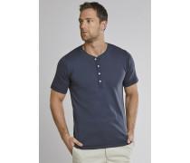 Shirt kurzarm Feinripp Henley Knopfleiste navy - Selected! Premium,Shirt kurzarm Feinripp Henley Knopfleiste navy -elected! Premium