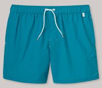 Swimshorts Webware blaugrün - Aqua Raw Coast