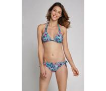 Schiesser Bikini-Triangel-Top zum Wenden mehrfarbig - Aqua Mix & Match für Damen