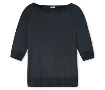 Shirt Jersey 3/4-Ärmel blauschwarz - Revival Amelie