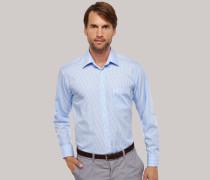 Schiesser kariertes Oberhemd in Comfort-Fit-Schnittform für Herren