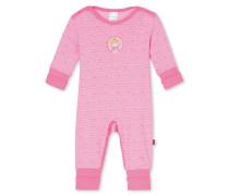 Babyanzug lang mit Vario rosé bedruckt - Prinzessin Lillifee Nachtwäsche