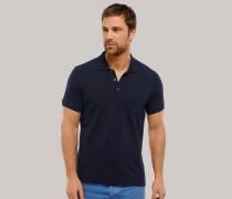 Poloshirt Piquee kurzarm blau für Herren