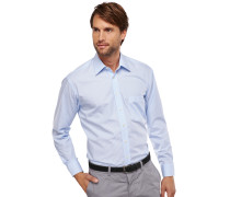 gestreiftes Oberhemd in Comfort-Fit-Schnittform