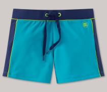 Schiesser Bade-Retroshorts grün - Aqua Island Summer für Jungen