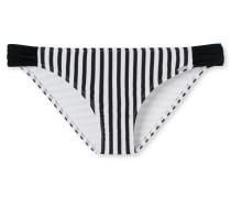 Bikini Minislip Streifen -weiß