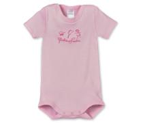 Baby-Body kurzarm rosa