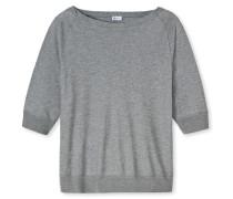 Shirt 3/4-Arm Cotton/Modal grau meliert - Revival Amelie