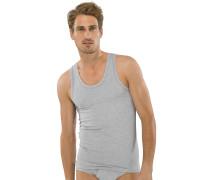 Unterhemden 2er-Pack grau meliert - Authentic