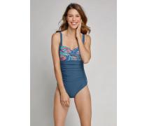Badeanzug mit Shape-Effekt mehrfarbig - Aqua Mix & Match