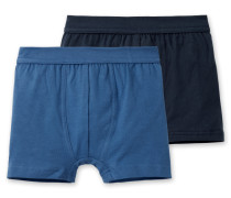 Hip-Shorts blau (2er-Pack)
