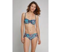 Schiesser Balconette-Bikini-Top gepaddet verstellbare Träger mehrfarbig - Aqua Mix & Match für Damen