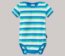 Schiesser Babybody kurzam mehrfarbig geringelt - Beach Cuiser für Jungen