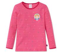 Shirt langarm Jersey pink bedruckt - Prinzessin Lillifee