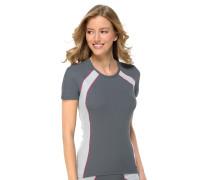 Shirt kurzarm Funktionswäsche anthrazit - Sport Extreme