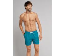 Swimshorts Webware blaugrün - Aqua Raw Coast für Herren