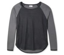 Shirt langarm Doubleface anthrazit - Revival Karin