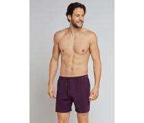 Boxershorts Jersey 2er-Pack aubergine - essentials