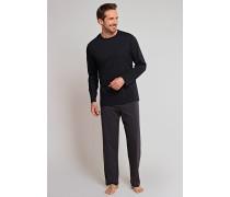 Schlafanzug schwarz geringelt - Scotland Yard
