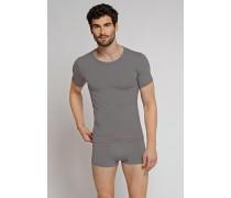 Shirt kurzarm dunkelgrau - Seamless Active für Herren