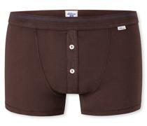 Schiesser Shorts braun