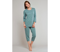 Schlafanzug 3/4-lang mineral gepunktet - a lovely kind of quiet