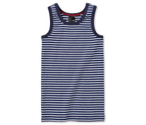Unterhemd dunkelblau-weiß geringelt - Original Classics