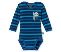 Babybody langarm blau geringelt - Capt´n Sharky Tagwäsche