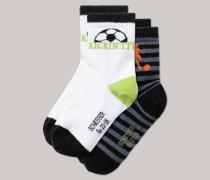 Schiesser Jungensocken 2er-Pack mehrfarbig - Fußball für Jungen