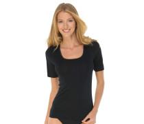 Shirt kurzarm schwarz - Luxury