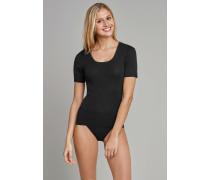 Shirt kurzarm schwarz - Luxury für Damen