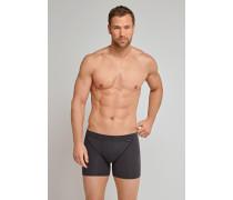 Shorts mit Nadelzug dunkelgrau – Authentic