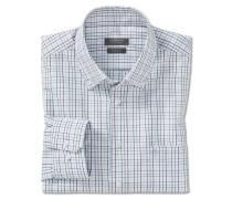 Hemd langarm Button-Down-Kragen mehrfarbig kariert - REGULAR-FIT