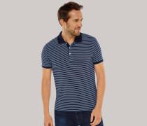 Poloshirt Piquee jeansblau geringelt - Selected! Premium für Herren,Poloshirt Piquee jeansblau geringelt -elected! Premium für Herren
