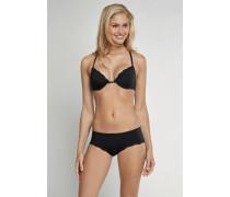 Bikini Hipster Micro-Qualität mit Spitze schwarz - Pure Micro für Damen