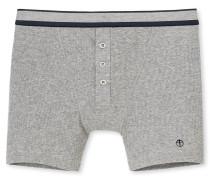 Retro-Shorts Doppelripp  meliert