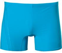 Herren Badetrunk Microfaser türkis blau