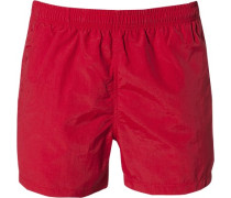 Herren Bade-Shorts asia red Taschen