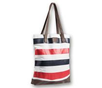 Damen  Shopper im sommerlichen Design weiß