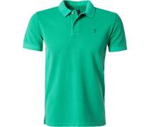 Herren Polo-Shirt Baumwoll-Piqué grün