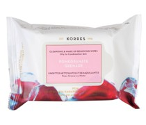 POMEGRANATE Make-up Removing Wipes - oily, combination skin