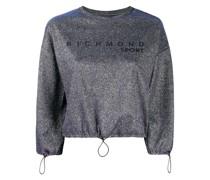 Sweatshirt im Metallic-Look
