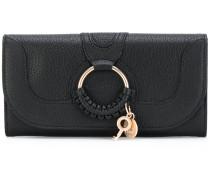 'Hana' continental wallet - women - Ziegenleder