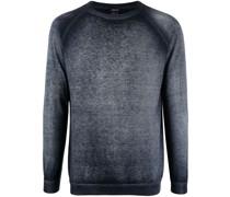 Fein gestrickter Pullover mit Farbverlauf