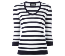 nautical striped jumper - women - Wolle - S