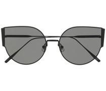 Fran Sonnenbrille mit rundem Gestell