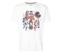 T-Shirt mit 'Monkey'-Print