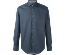 fine print shirt - men - Baumwolle - 43