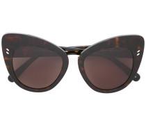 Cat-Eye-Sonnenbrille in Schildpattoptik - women