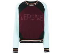 Sweatshirt in Colour-Block-Optik